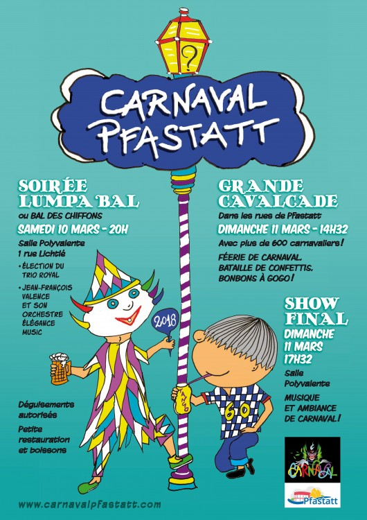 Affiche A3 CARNAVAL 2018