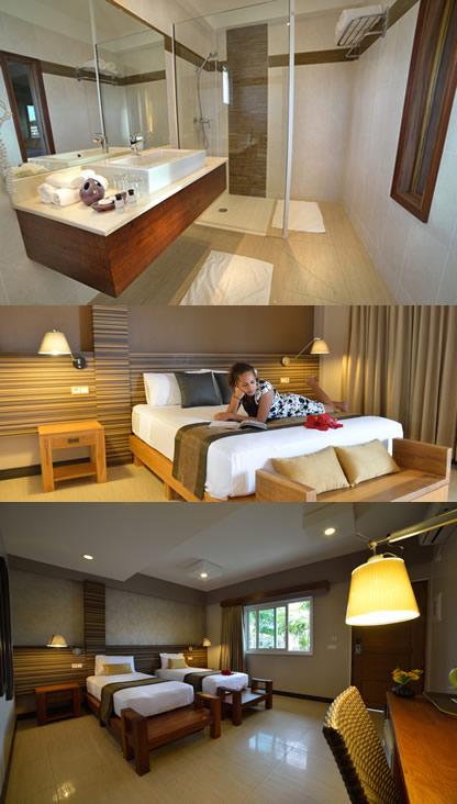 chambres hotel colibri
