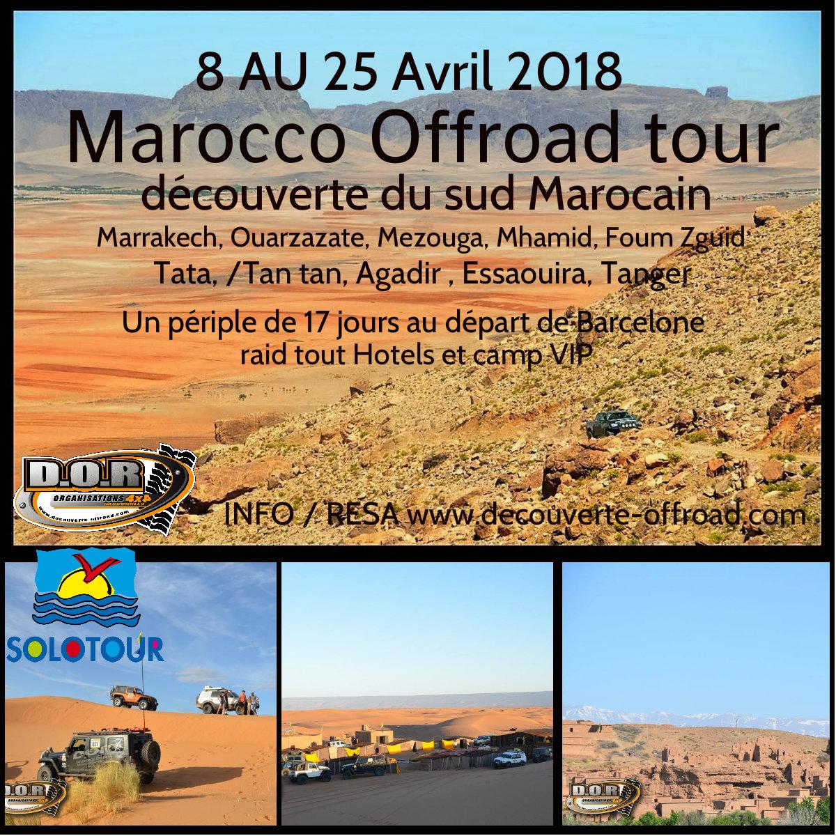 marocco tour 2018