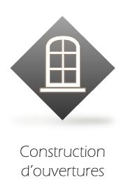 construction ouvertures
