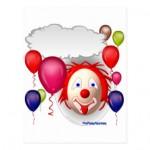 carte postale clown parlant danniversaire r5c619dcecbed4ee7b931fbb86c338d8f vgbaq 8byvr 324