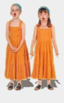 enfants oranges