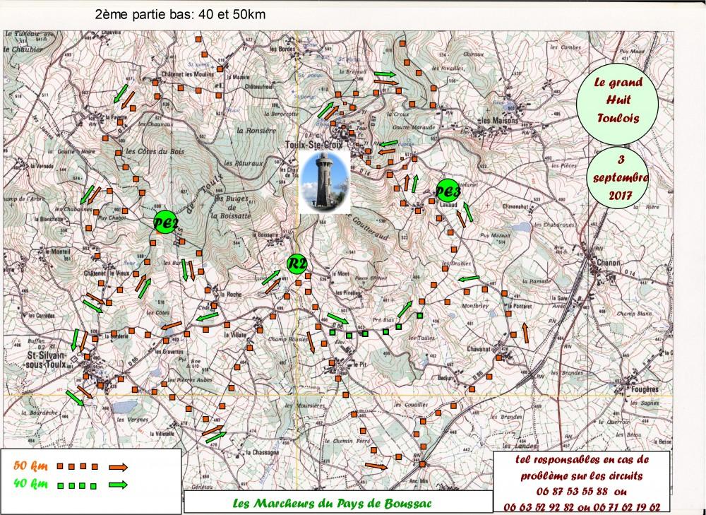 Web circuit 50 km bas