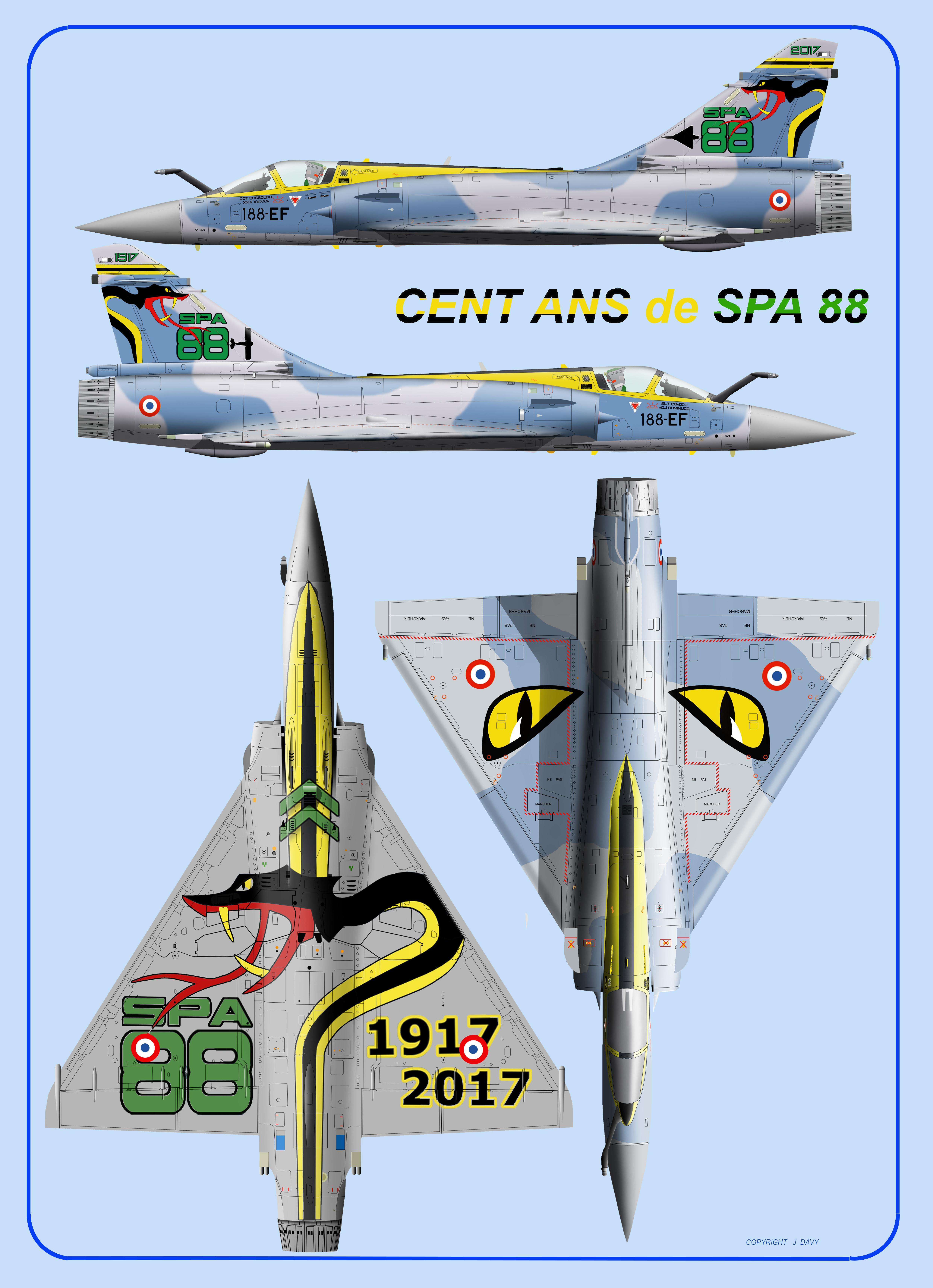 SPA 88 4VUES
