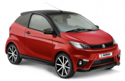 Aixam Coupe GTI 2016 34AV Rouge Jantes Ombre