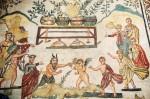 villa romaine de la sicile de mosaique 8746683
