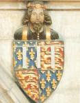 Applique et armes du Prince Noir  York