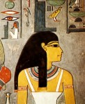 Isis   Tombe d Horemheb   Detail de la deesse Isis