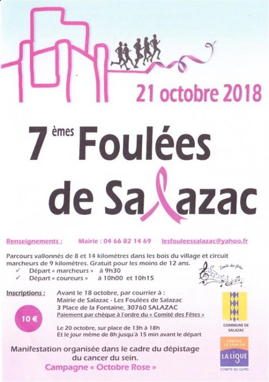 Affiche 7emes Foulees de Salazac 0001