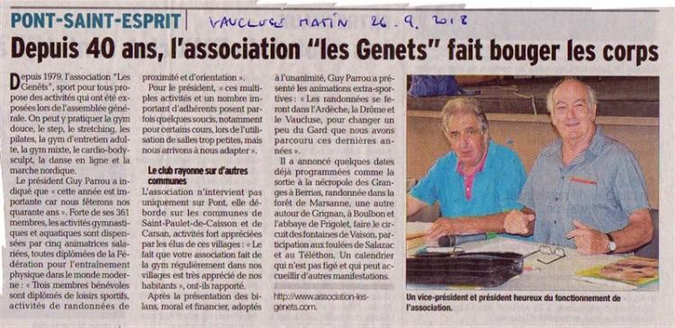 CR Vaucluse matin