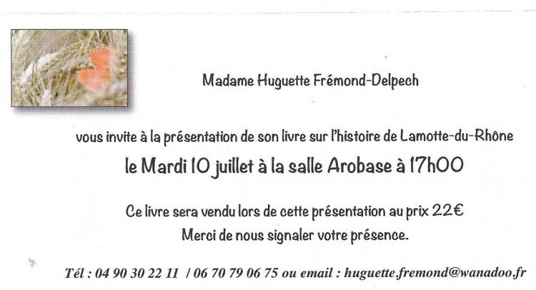 Invit Huguette.