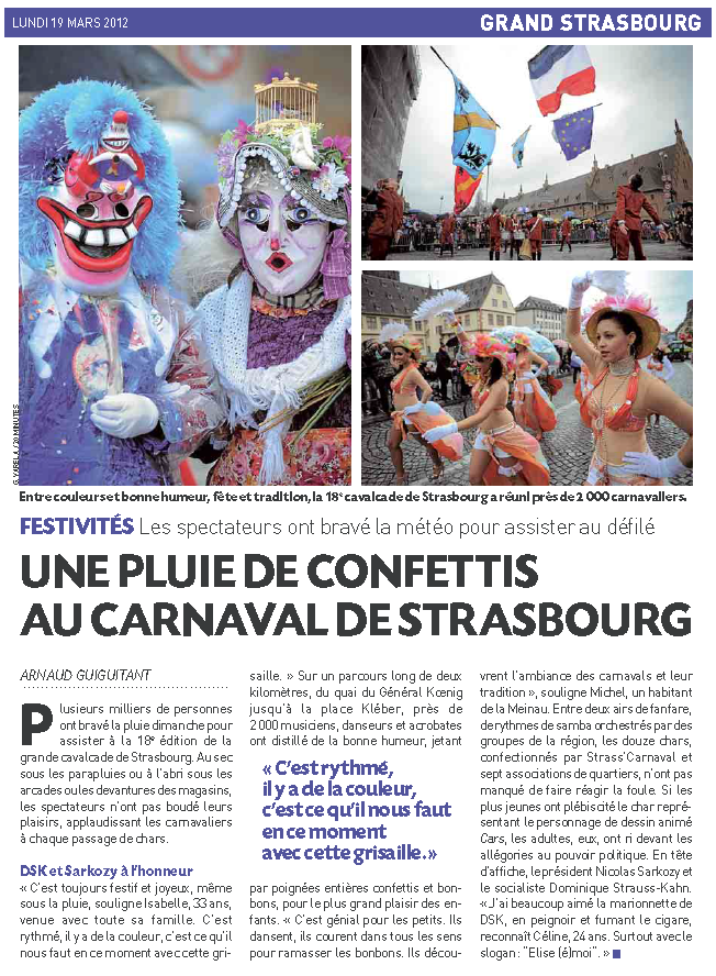Article 20 Minutes Strasbourg 2012