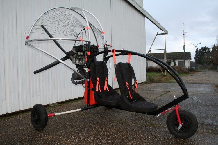 Chariot Paramoteur biplace Skydream