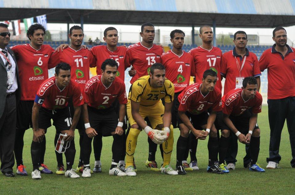 equipe de football egyptienne  pour les sourds muets