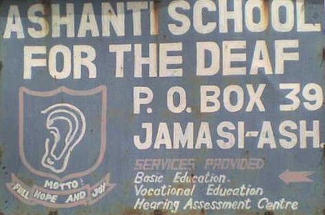 Ashanti School Ghana