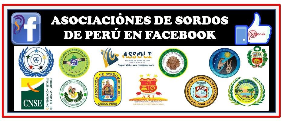 Redes de Asociaciones de Sordos en Peru