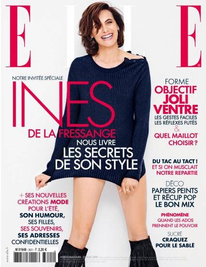 Photo Celine Bansart dans ELLE