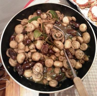 Funghi  al marsala  sicile  2016