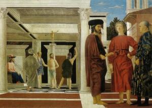 Piero  flagellazione 11