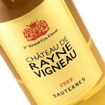chateau de rayne vigneau 2009 sauternes bordeaux grand cru classes en 1855