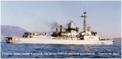 Photo fregate AA Cassard