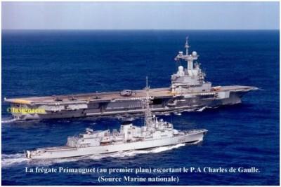 Photo fregate ASM Primauguet