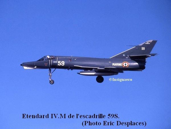 59S . Etendard IV M numero 59