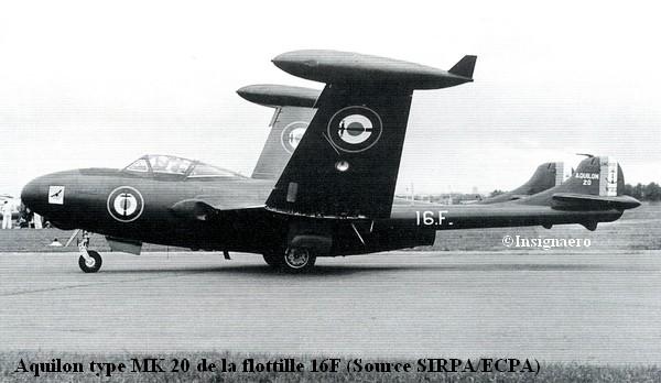 Aquilon type MK20 de la 16F