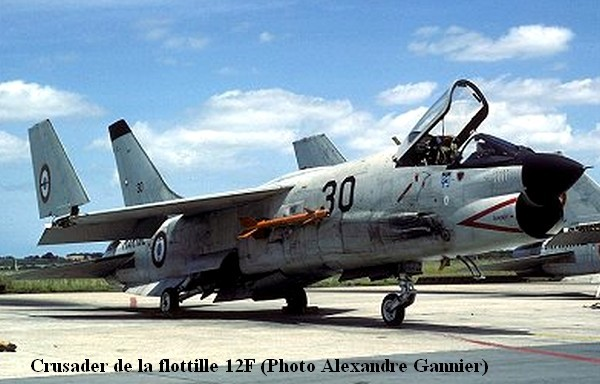 Crusader a la 12F sur un parking