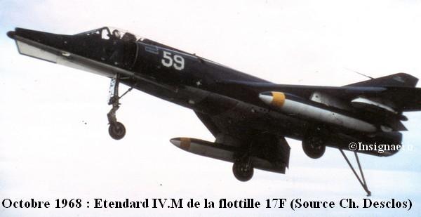 ETD IV.M de la 17F au Pacifique