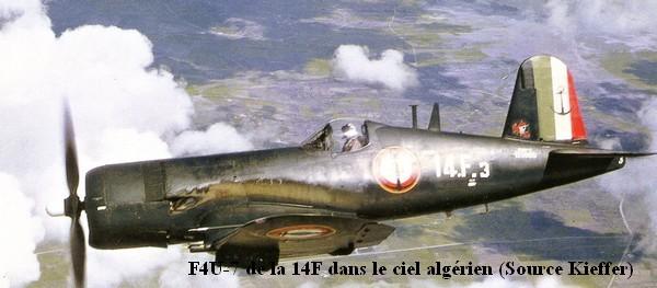 F48 7 de la 14F dans le ciel algerien