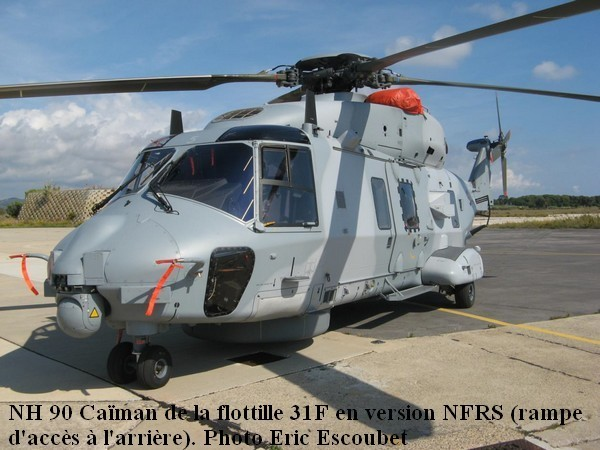 Helicoptere NH.90 de la 31F en version NFRS