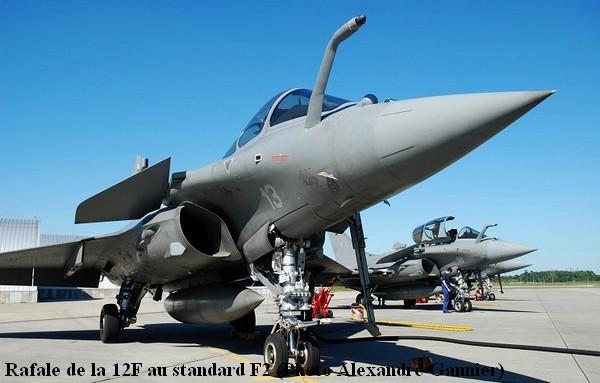 Rafale standard F2 de la 12F