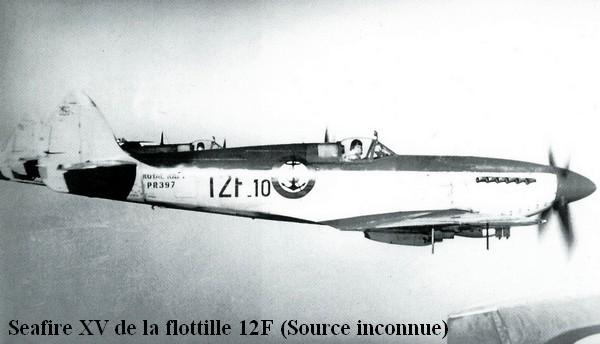 Seafire XV de la flottille 12F
