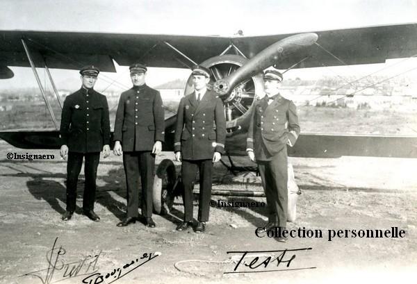 Aviation d escadre Prevot  Bougault D Auteville et LV Teste
