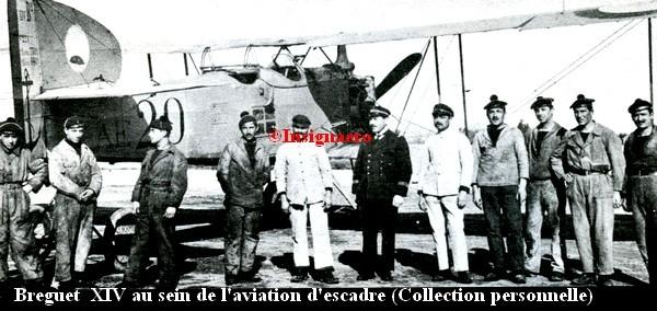 Breguet XIV de l aviation d escadre