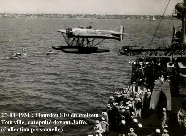 Gourdou 810 du croiseur Tourville