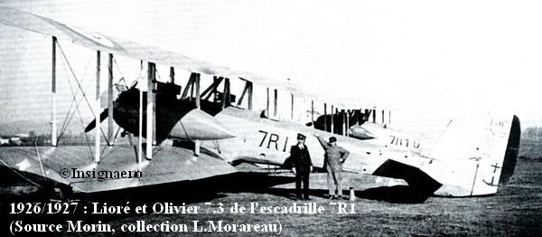 LeO 7.3 de l escadrille 7R1