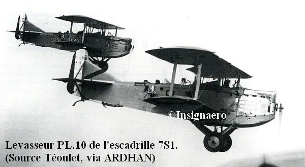 Levasseur PL.10 de l escadrille 7S1