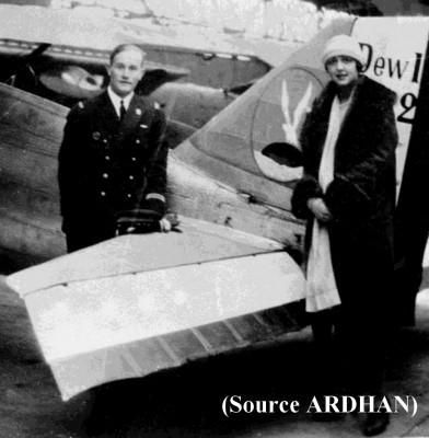 Photo de Jozan en 1926 avec sa future
