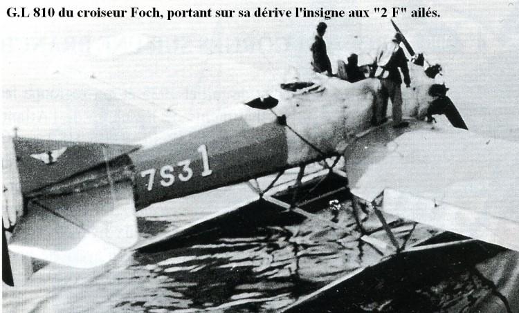Photo du Gourdou Leseure 810 du croiseur Foch