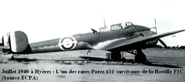 Potez 631 de l escadrille AC1