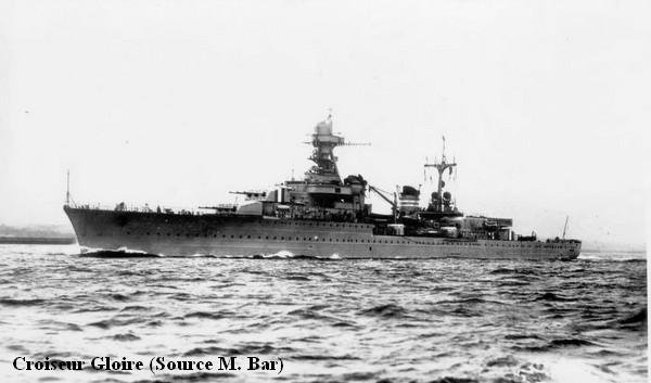 Croiseur Gloire photo Bar