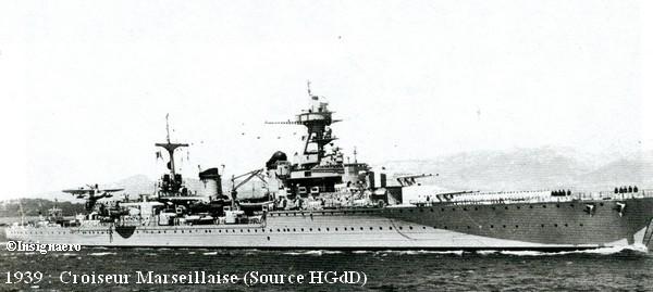 Croiseur Marseillaise photo de 1939
