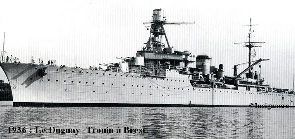 Duguay Trouin vu a Brest en 1936