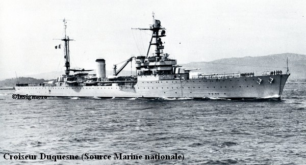 Duquesne au large de Toulon