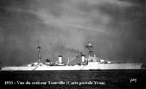 En 1933 vue du Tourville