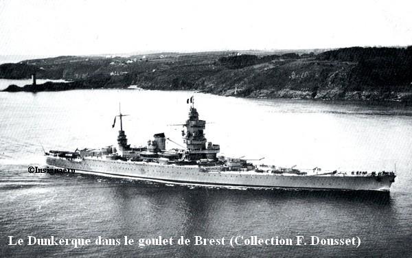 Le BDL Dunkerque dans le goulet de Brest