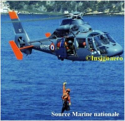 Photo plongeur d helicopere