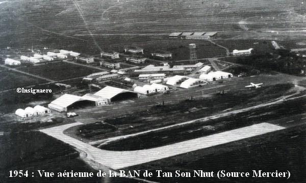 1954 Vue aerienne de la BAN TSN